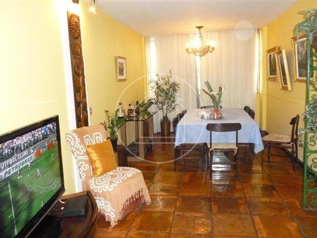 Apartamento à venda com 3 dormitórios em Copacabana, Rio de janeiro cod:595000