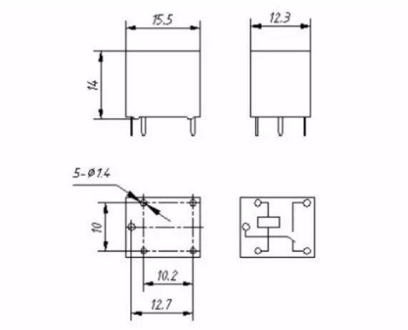 COD-CP269 Kit 2 Unid. Relé 5v 20a Sra-05vdc-cl Arduino Automação Robotica - Foto 2