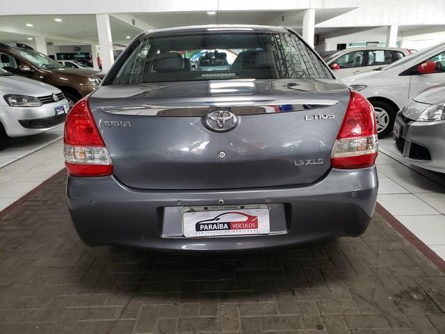 Etios sedan 1.5 XLS 2014 com couro - Foto 4