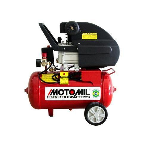 Compressor de Ar Hobby CMI-7,6/24BR 2CV 220V - Motomil (Loja)