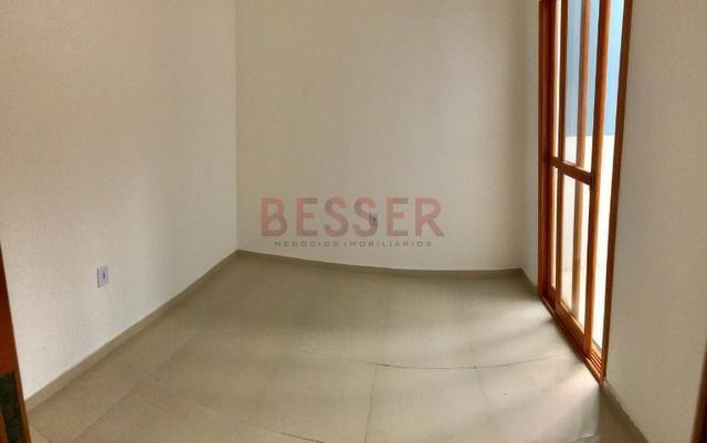 Casa nova com 2 dormitórios e ótimo pátio para lazer! - Foto 3