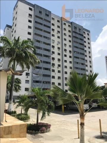 Apartamento com 3 dormitórios à venda, 115 m² - fátima - fortaleza/ce