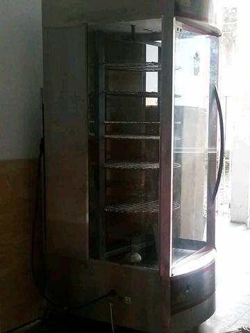 Frangueira giratória com 7 grades seminova - Foto 3