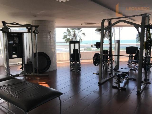 Apartamento com 4 suítes, beira mar, fortaleza, ceará - Foto 17