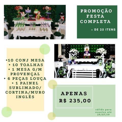 Promoção Festa Completa + 25 itens
