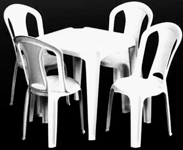 Aluguel de mesas e cadeira