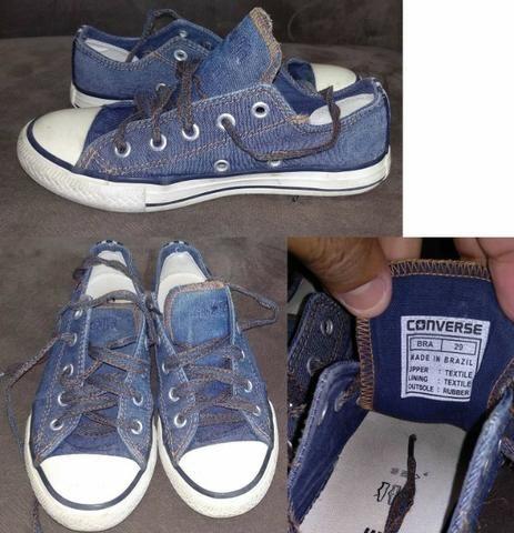 Lote calçados menina tamanho 28 e 29 e 31