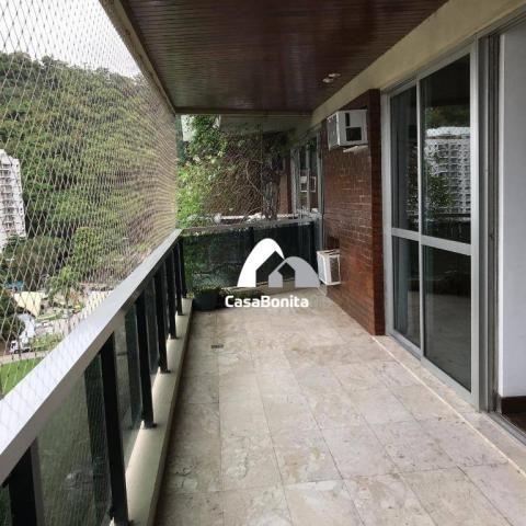 Apartamento com 3 dormitórios à venda, 160 m² - lagoa - rio de janeiro/rj - Foto 3
