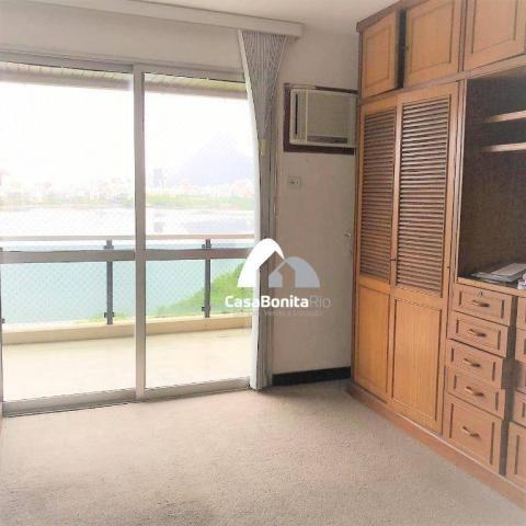 Apartamento com 3 dormitórios à venda, 160 m² - lagoa - rio de janeiro/rj - Foto 10