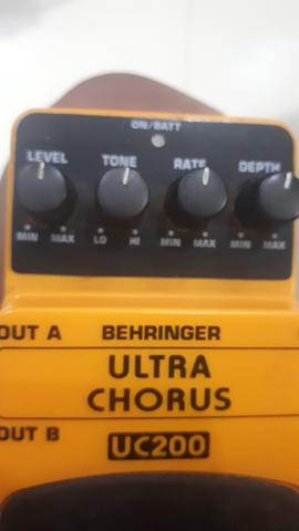 Pedal ultra chorus