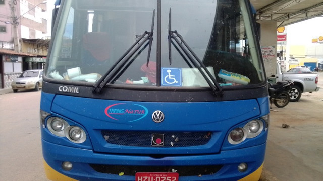 Micro ônibus rodoviário executivo Comil Piá - Foto 7