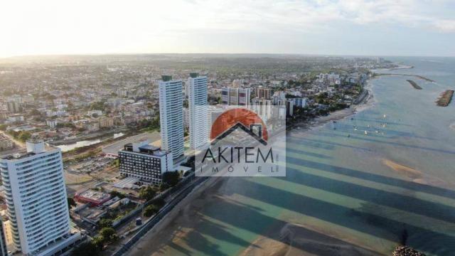 Apartamento com 04 quartos, 03 suítes e lazer fantástico a beira mar de Olinda - Foto 2