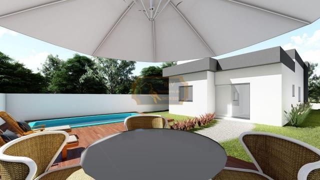 Casa alto padrão, 3dorm c/ suíte, churrasqueira e piscina. - Foto 8