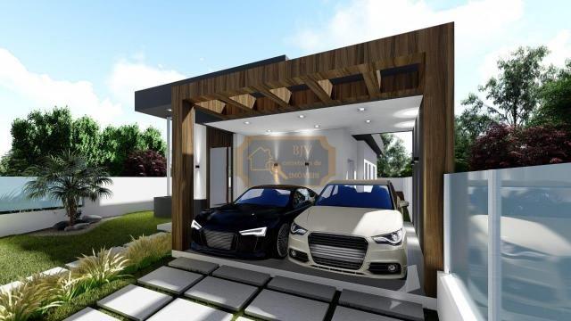 Casa alto padrão, 3dorm c/ suíte, churrasqueira e piscina. - Foto 3