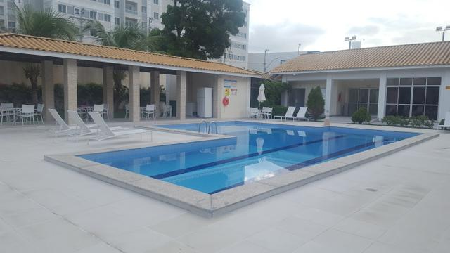 Apartamento semi mobiliado 2/4 com suite em Buraquinho próximo a estrada do coco - Foto 10
