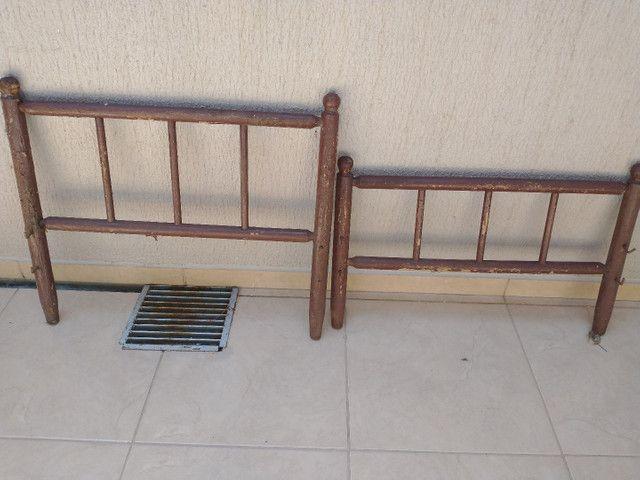 Vendo Guardas/Cabeceiras de cama Patente - Foto 2