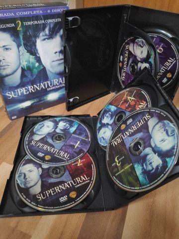 Supernatural - Segunda temporada completa - Foto 4