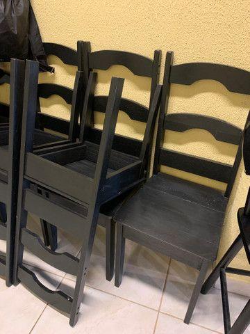 Jogo de mesa e cadeiras  - Foto 3