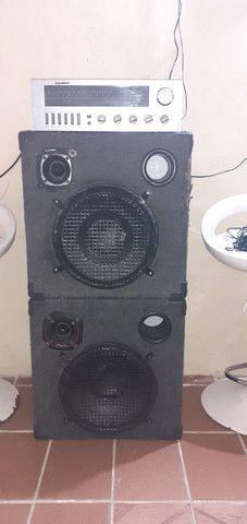 Vendo esse som modulado R$ 600.00 - Foto 3