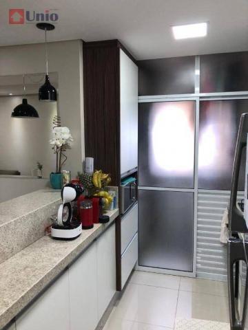 Apartamento com 3 dormitórios à venda, 68 m² por R$ 390.000 - Alto - Piracicaba/SP - Foto 17