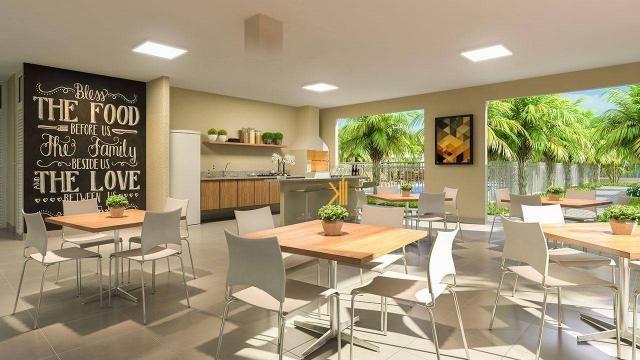 Apartamento com 2 dormitórios sendo 1 suíte reversível à venda, 42 m² por R$ 143.635 - Tam - Foto 7