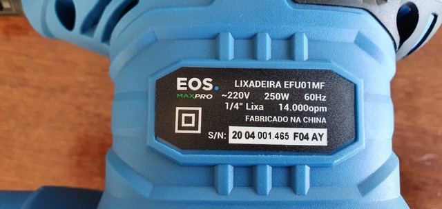 Lixadeira EOS max pro profissional - Foto 4