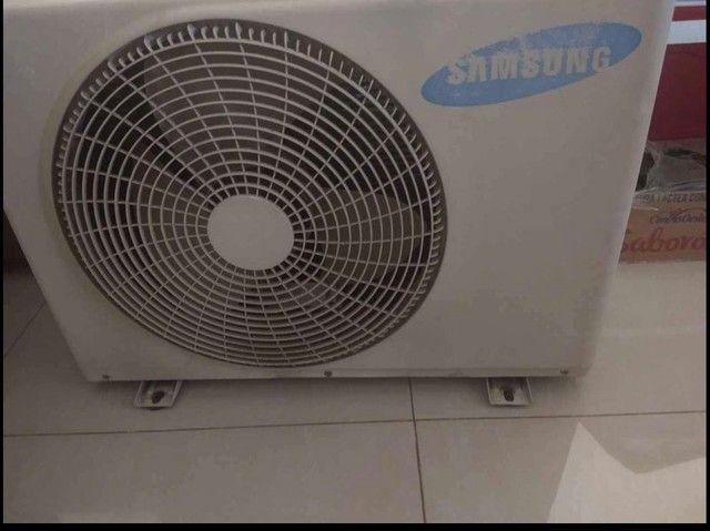Ar condicionado samsung praticamente novo funcionando perfeitamente  - Foto 3