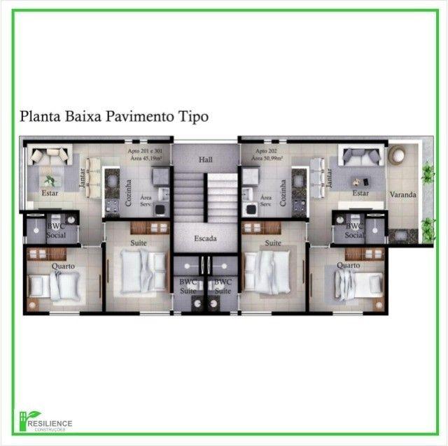 Apartamento no Cristo (Arquitetura Moderna) - Foto 5