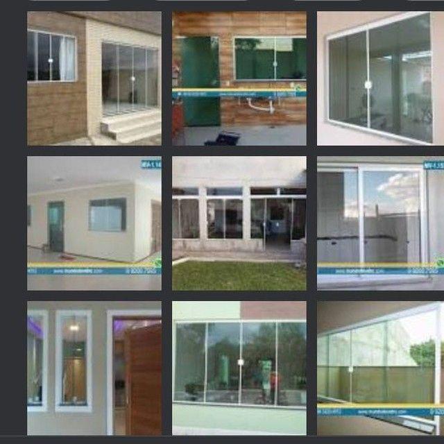 Mais vidro vendas montagem e assessórios