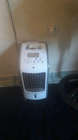 Um climatizador  com nota fiscal
