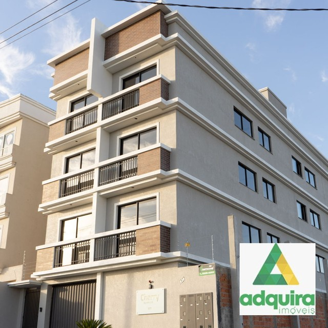 Apartamento com 2 quartos no Cherry - Bairro Neves em Ponta Grossa - Foto 2