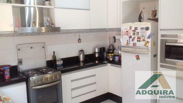 Casa sobrado com 4 quartos - Bairro Orfãs em Ponta Grossa - Foto 4