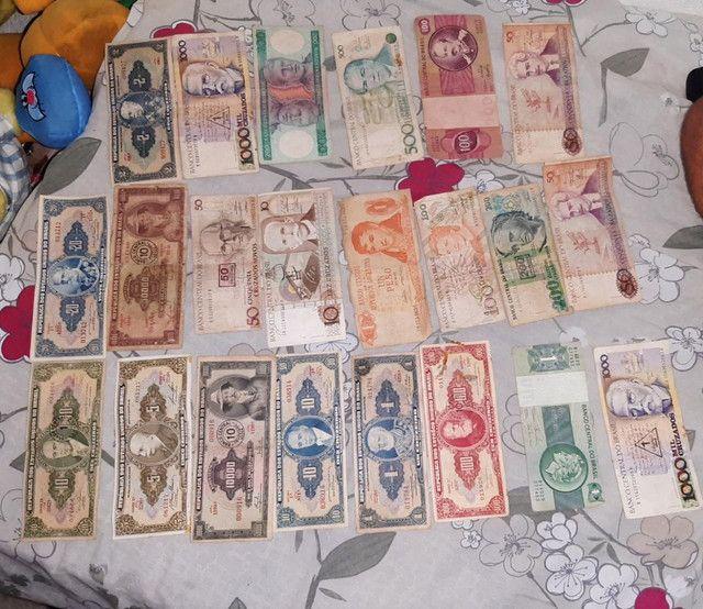 Cedulas e moedas antiga - Foto 2