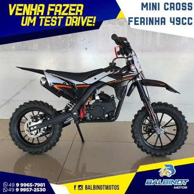 Mini Cross Ferinha 49cc