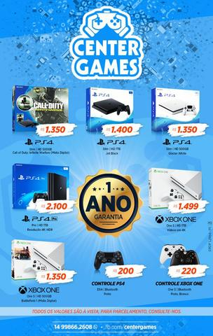 Ps4 X Box One S
