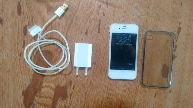 IPhone 4s branco 16gb