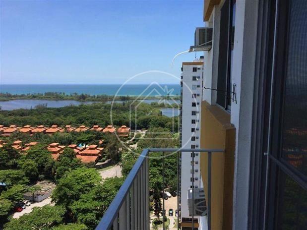 Apartamento à venda com 2 dormitórios em Barra da tijuca, Rio de janeiro cod:799851