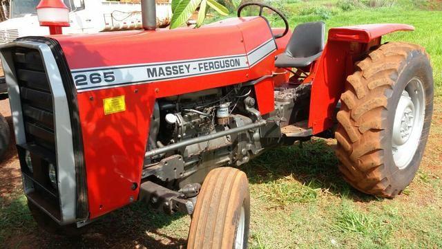 Trator massey Ferguson modelo 265