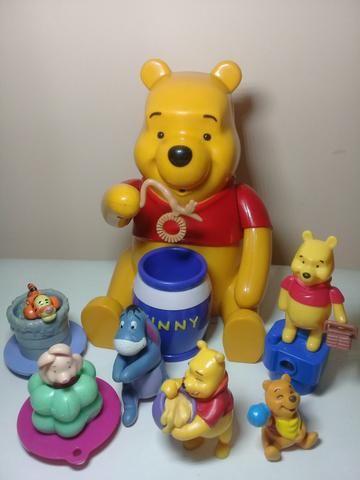Turma do Ursinho Pooh c/ 7 bonecos ( Disney )