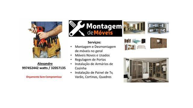 Montador de móveis alexandre 997452442 watts