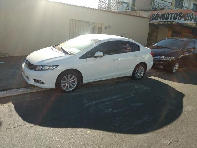 Honda Civic LXR 2.0 2013/2014 Automático Branco Novo