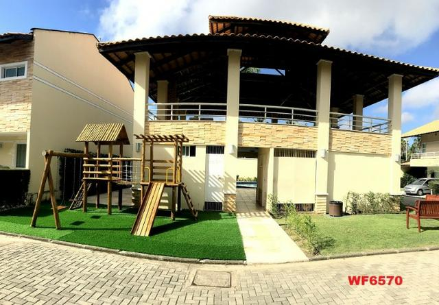 CA1322 Laguna Ville, casa em condomínio com 4 suítes, 3 vagas, área de lazer completa - Foto 13