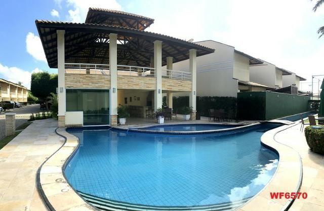 CA1322 Laguna Ville, casa em condomínio com 4 suítes, 3 vagas, área de lazer completa
