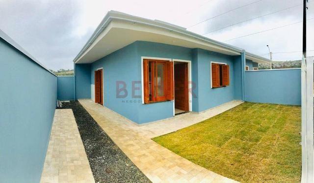Casa nova com 2 dormitórios e ótimo pátio para lazer! - Foto 9