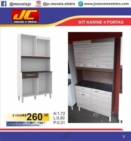 Kit karine 4 portas