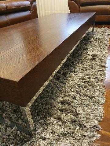 Mesa de centro em madeira - Foto 2
