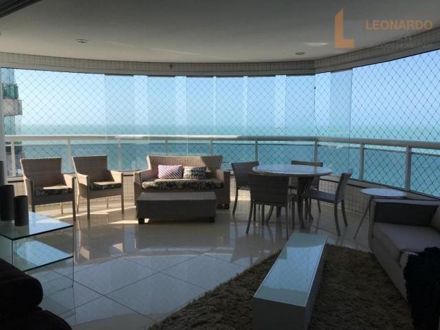 Apartamento com 4 suítes, beira mar, fortaleza, ceará - Foto 8