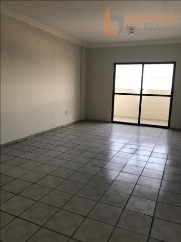Apartamento com 3 dormitórios à venda, 115 m² - fátima - fortaleza/ce - Foto 2