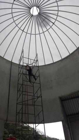 Barracão Metálicos a 120.00 m2