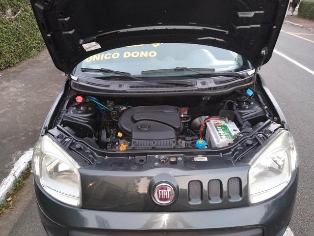 Fiat uno way 2012 básica 1.0 mi flex 8v 4p manual - Foto 4